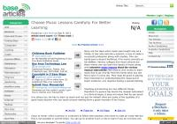 Choose Music Lessons Carefully For Better Learning.pdf
