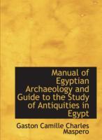 01 000 0060 Manual of Egyptian Archaeology.pdf