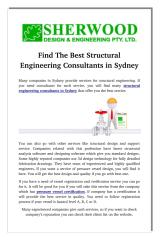 Find The Best Structural Engineering Consultants in Sydney.pdf