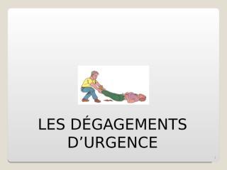Degagement urgence.ppt