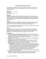 Finance End User Computing Policy.doc
