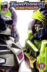 Transformers - Energón #30 por Megas & Skids.cbr