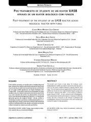 Artigo Técnico - Pós Tratamento de Efluente de um reator UASB.pdf