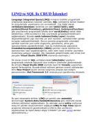 LINQ to SQL ile CRUD İşlemleri.pdf