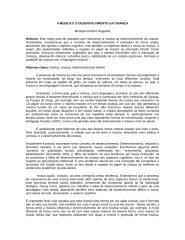 Texto - A MÚSICA E O DESENVOLVIMENTO DA CRIANÇA.doc