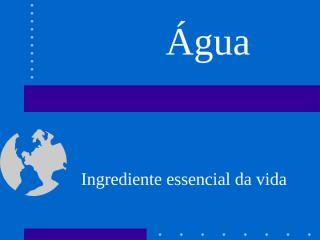 agua.ppt