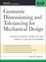 GD & T for Mechanical Design.pdf