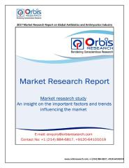 Antibiotics and Antimycotics Industry Analysis by Orbis Research.pdf
