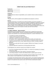 Credit and Collections Policy.doc